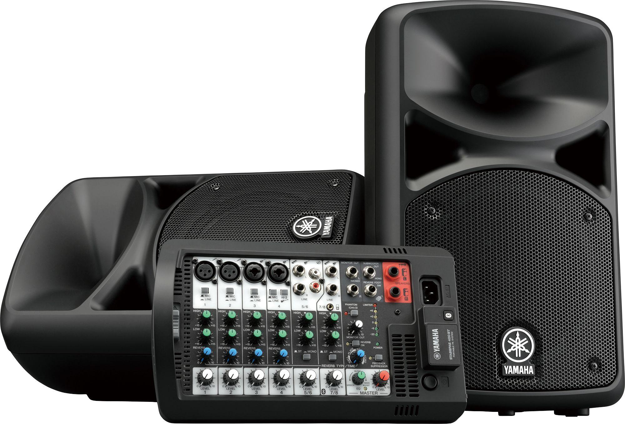 Портативная активная акустическая система Yamaha STAGEPAS 400BT