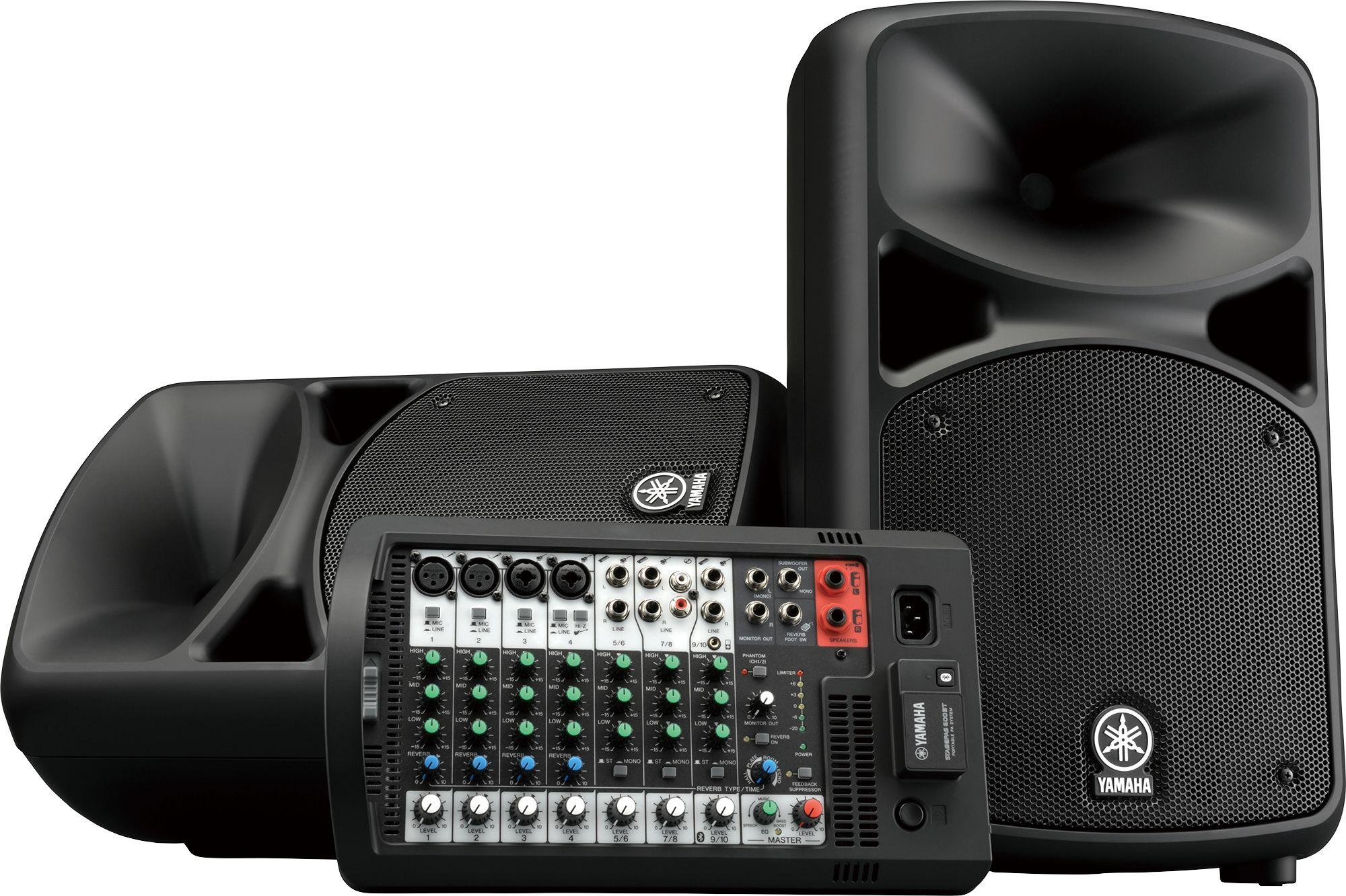 Портативная активная акустическая система Yamaha STAGEPAS 600BT