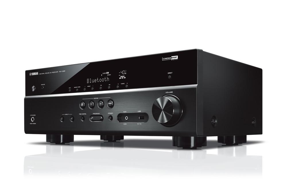 Многоканальный ресивер Yamaha RX-V385 BLACK //F