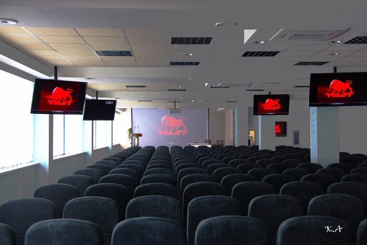 Оснащение AV-оборудованием конференц-зала