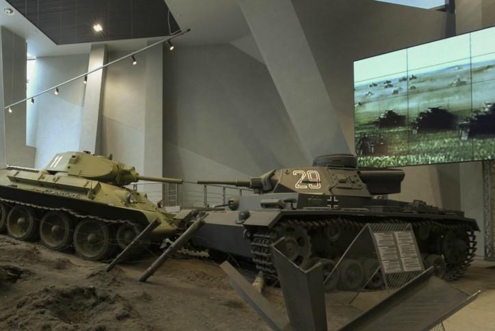 Оснащение AV-оборудованием экспозиции Белорусского государственного музея истории ВОВ