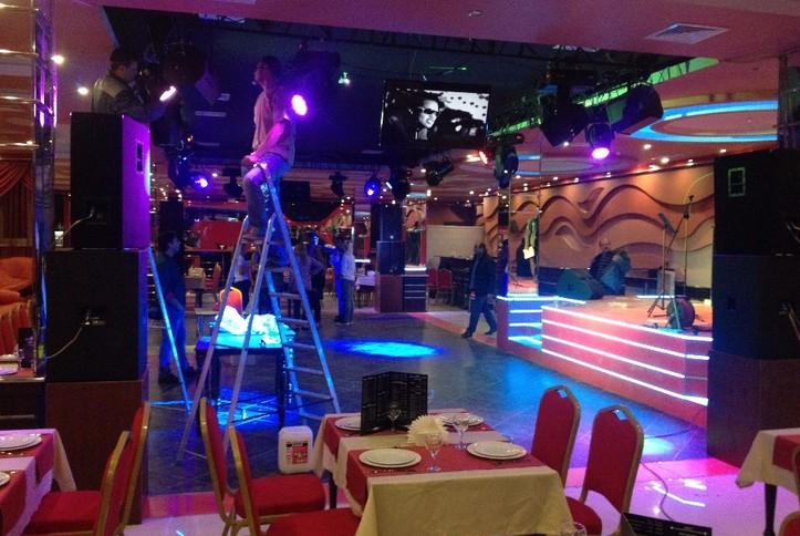 Инсталляция, настройка и запуск AV-оборудования в ночном клубе
