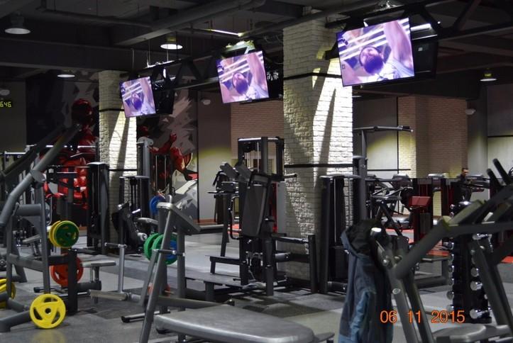 Оснащение AV - оборудованием спортивного зала МФК «Мандарин»