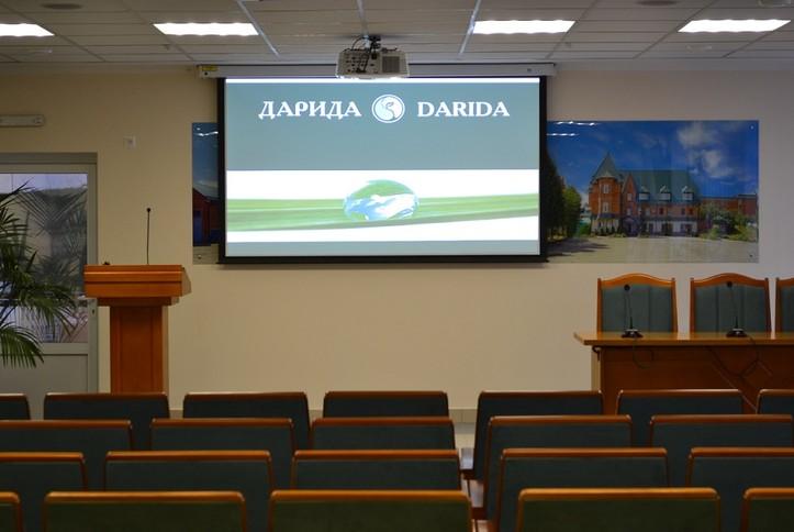 Оснащение AV-оборудованием конференц зала частного предприятия