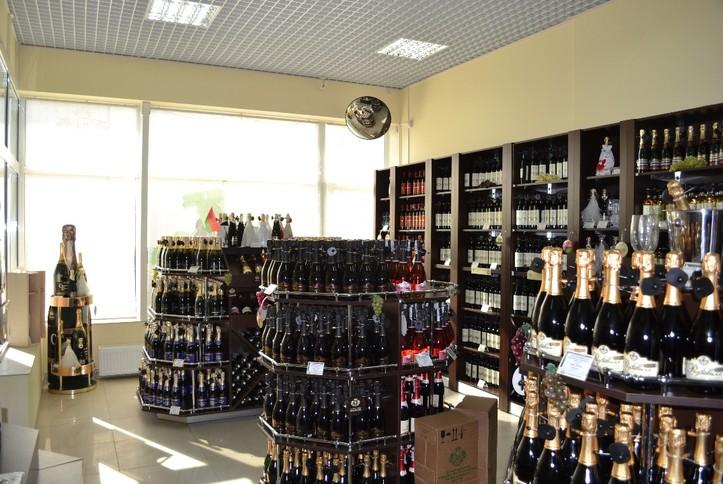 Озвучен фирменный магазин №2 Минского завода игристых вин