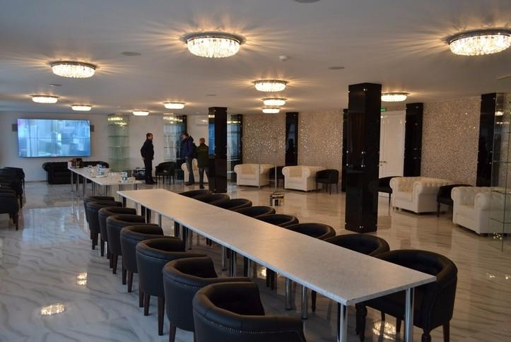 Оснащение AV- оборудованием и системой презентации дегустационного зала завода Игристых вин.