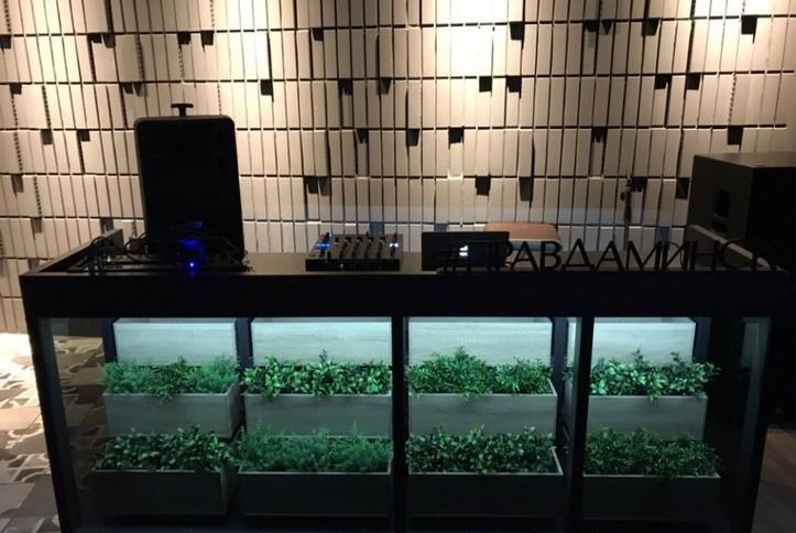 Оснащение звуковым оборудованием Amate Audio гастробара