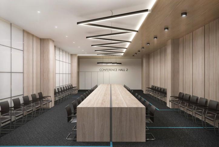 39000 кв.м. звука: Оснащение административно-делового центра