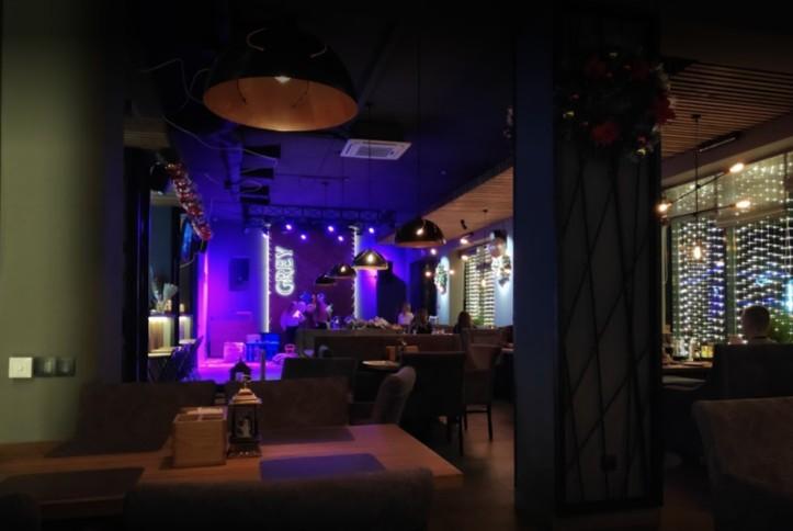 Оснащение звуковым и световым оборудованием ресторана GREY в г. Орша