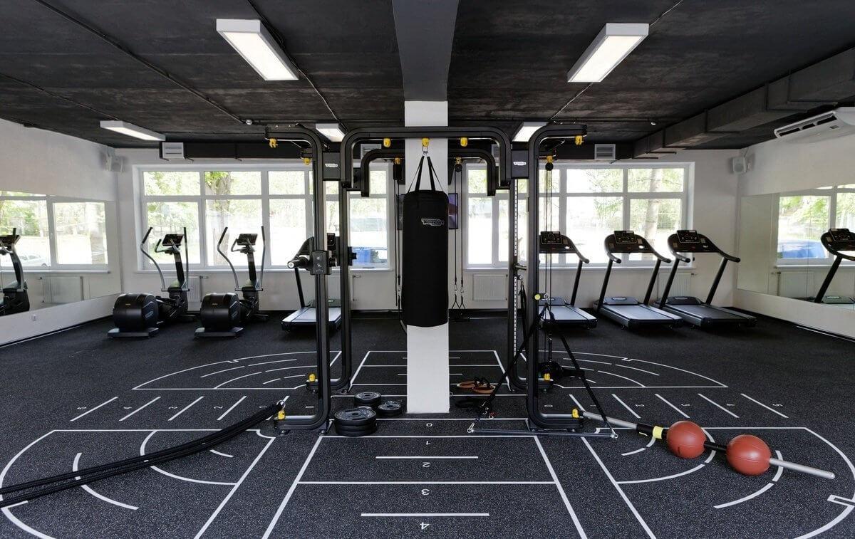 Оснащение звуковым оборудованием спортивного комплекса