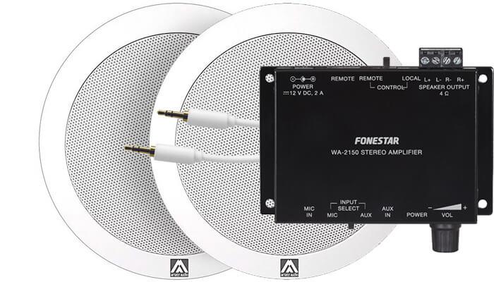 Комплект Amate Audio 50м²
