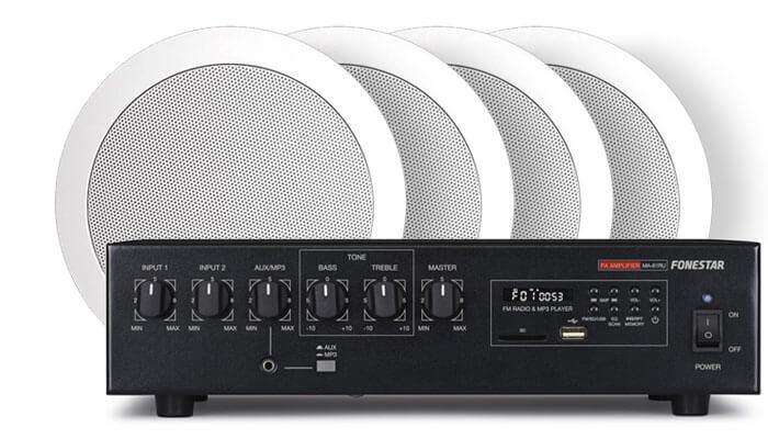 Комплект Amate Audio 100м²