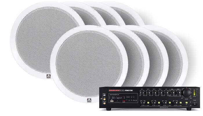 Комплект Amate Audio 200м²