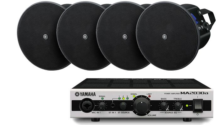 Комплект Yamaha 100м²