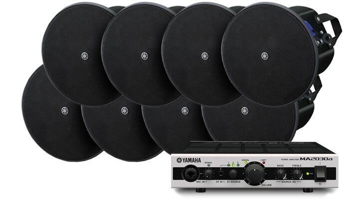 Комплект Yamaha 200м²